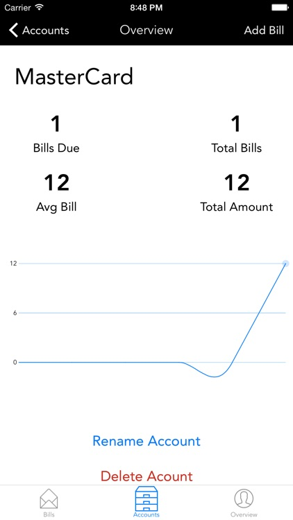 billAssist - Beautiful bill management screenshot-3