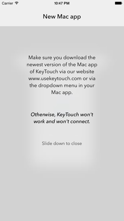 KeyTouch screenshot-1