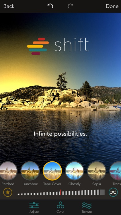 Shift - Create Custom Filters with Textures, Gradients, and Blends screenshot-4
