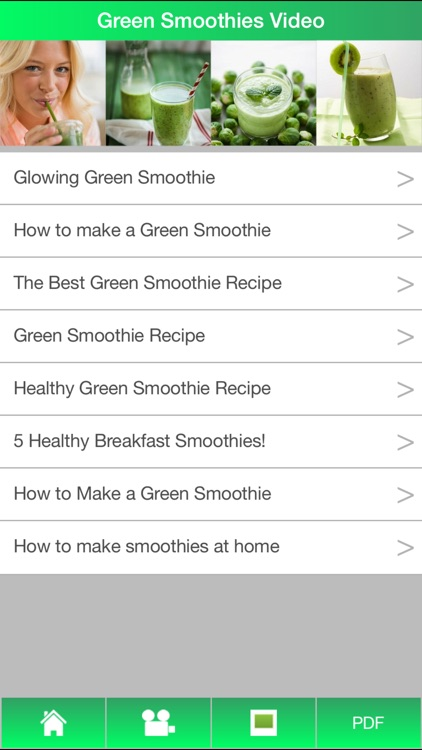 Green Smoothies Guide - Learn How To Make Green Smoothies For Healthy ! screenshot-1