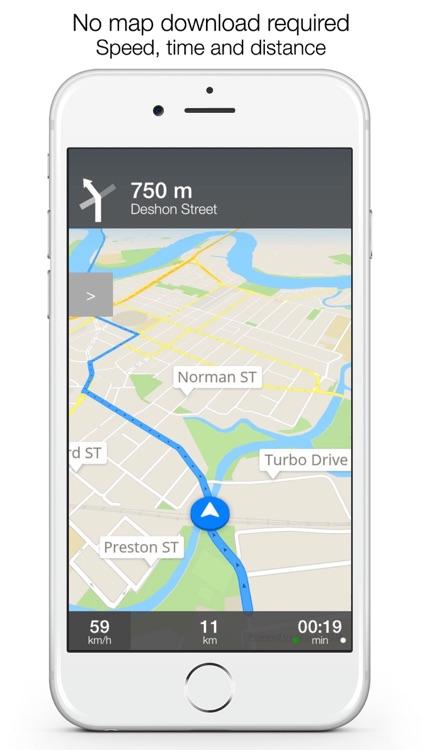 Ireland Offline Maps and Offline Navigation screenshot-3