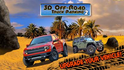 3D Off-Road Truck Parking 2 - Extreme 4x4 Dirt Racing Stunt Simulator : Free Gameのおすすめ画像5
