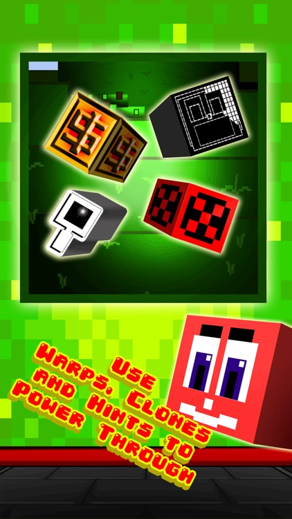 Funny Pixel Faces on Blocks Match 3 Puzzle Game screenshot-3