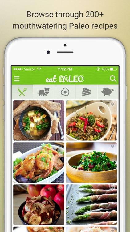 Eat Paleo - Delicious Paleo Diet Recipes and Meals app image