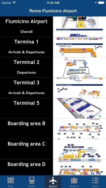 Rome Offline Map - City Metro Airport