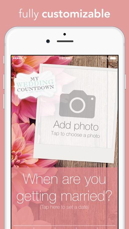 My Wedding Countdown screenshot-0