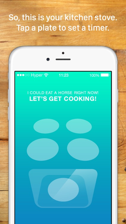 Thyme: A kitchen timer for your culinary arts screenshot-0