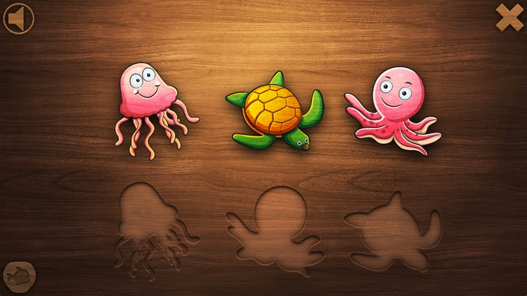Toddler Games and Fish Puzzles for Kids: Age 1 2 3