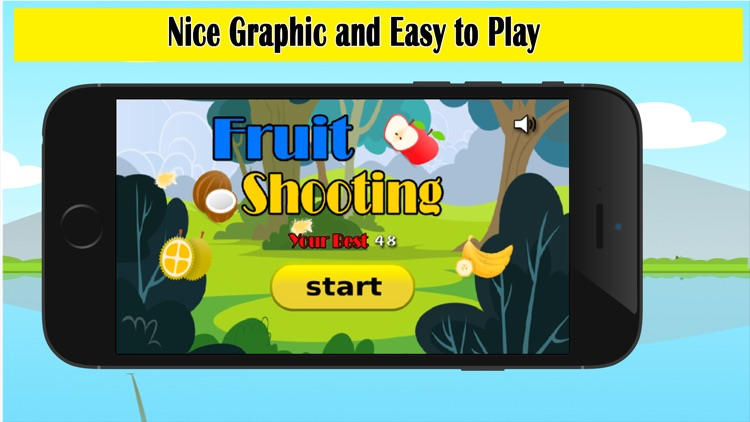 Fruit Shooting Game for kids