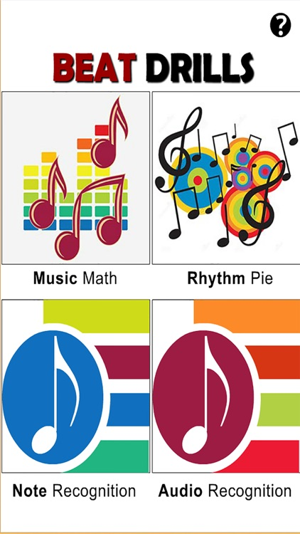 Beat Drills (Music Math, Rhythm Pie, Note and Audio Recognition)