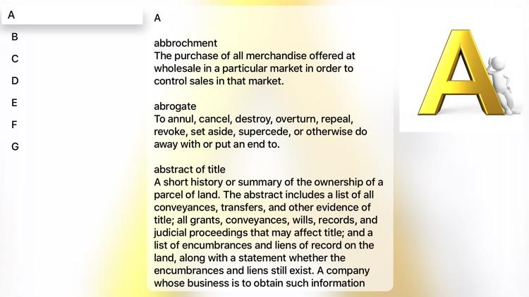 Business Term Dictionary