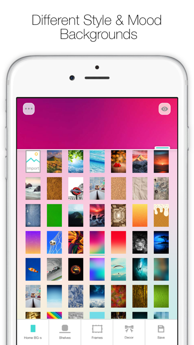 Icon Skins Builder FREE - Create Custom Home Screen Backgrounds and Wallpapers screenshot