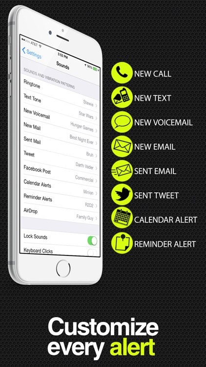 ToneCreator Pro - Create text tones, ringtones, and alert tones! screenshot-4