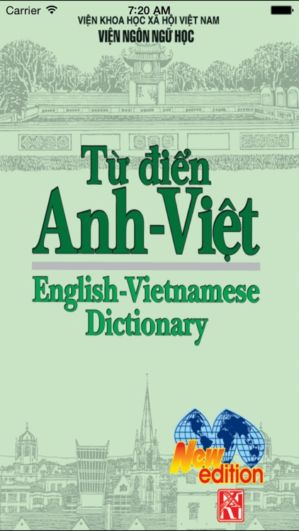 English Vietnamese Dictionary New Edition screenshot-0