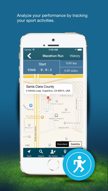 GPS Route Tracker - Find Near By Places screenshot-3
