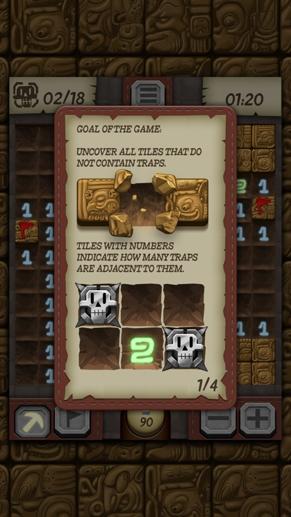 Temple Minesweeper - El Dorado Adventure with Mine Sweeper Gameplay screenshot-3