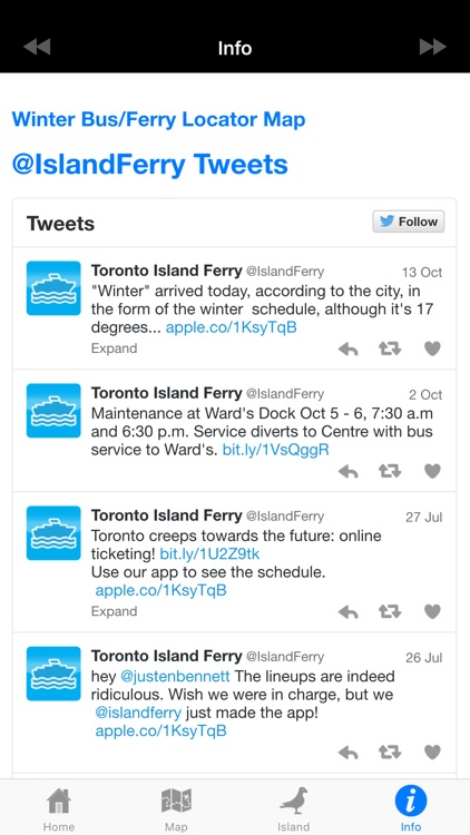 Toronto Island Ferry Finder screenshot-4