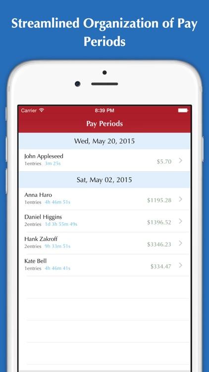 Time Tracker - Hours tracking, Timesheet, Invoice & Billing screenshot-4