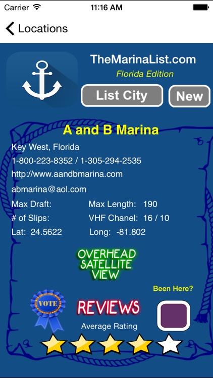 The Florida Marina Guide - Details on 840+ Marinas