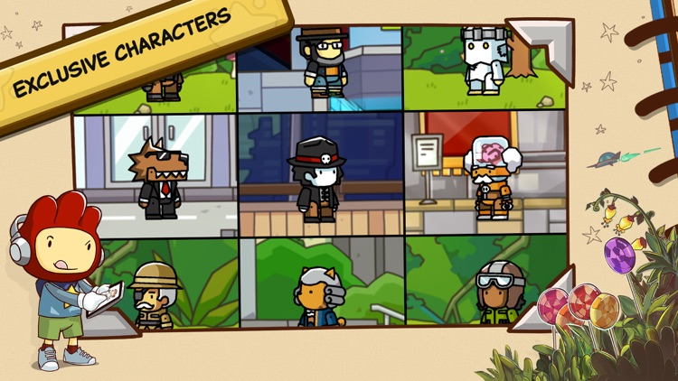 Scribblenauts Unlimited screenshot-4