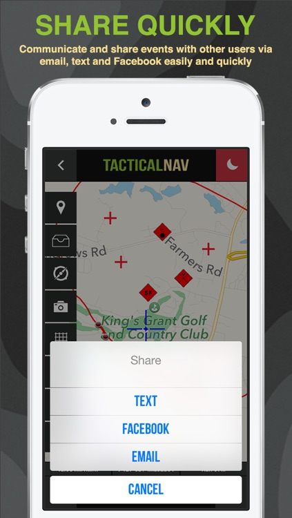 Tactical NAV - GPS Navigation App For Military and First Responders screenshot-4