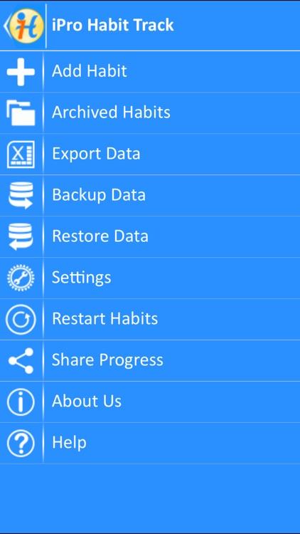 iPro Habit Tracker
