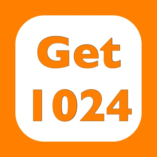 Get 1024 - More fun than 2048 icon