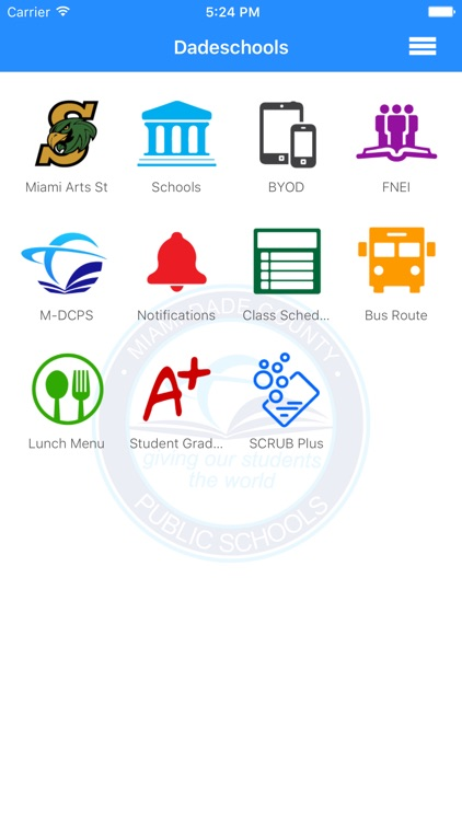 Dadeschools Mobile screenshot-1