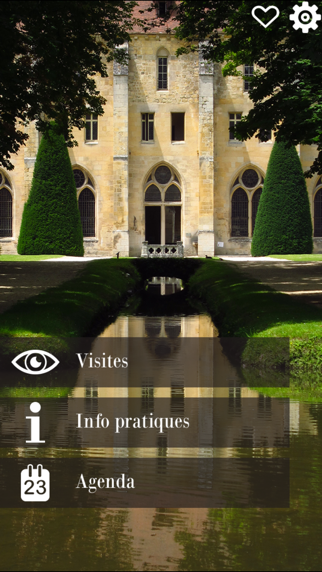 Royaumont - visite de l'abbaye screenshot one