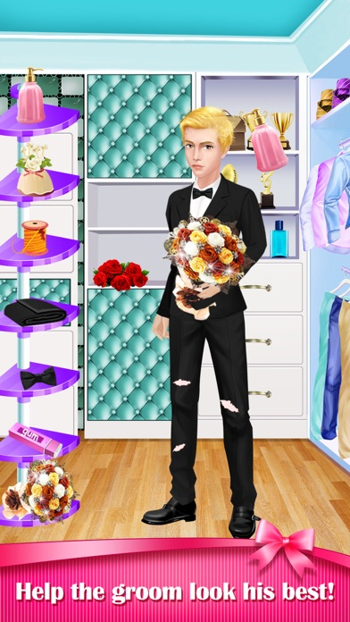 download Mom and Dad's Love Story - Wedding Makeover & Baby Care Game apps 1