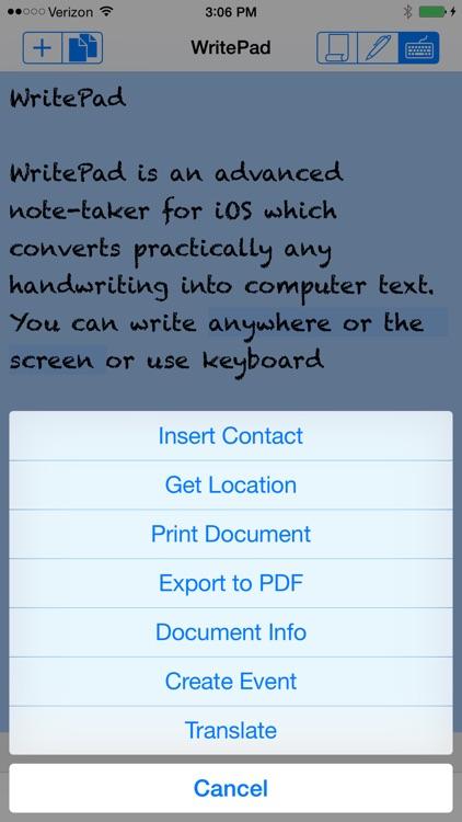 WritePad screenshot-3