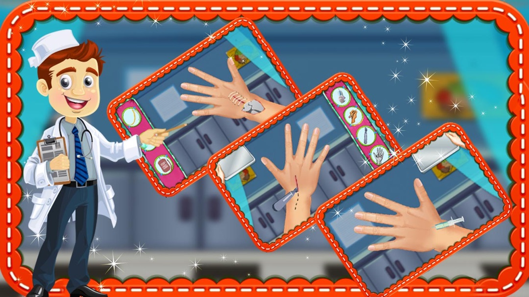 Hand Surgery - Crazy skin beauty surgeon and doctor hospital