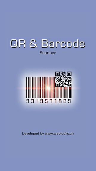 QR & Barcode Reader and Scanner - simple and fast for all kinds of products and booksのおすすめ画像1