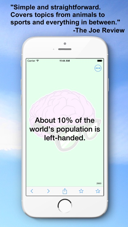 Random Facts — 3500+ Interesting, Unusual, and Random Facts! screenshot-4