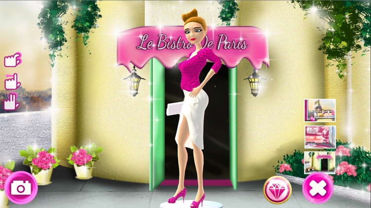 Dress Up Game for Girls: Fantasy Boutique - Paris Fashion Makeover Girls Games screenshot-3