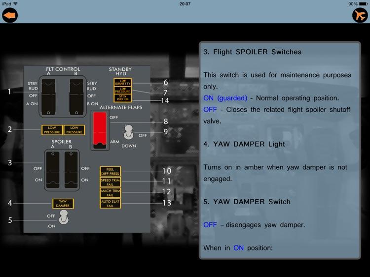 Switch 737 NG - Boeing B737 NG Training screenshot-3