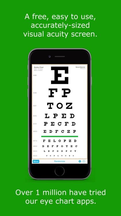 EyeChart - Vision Screening