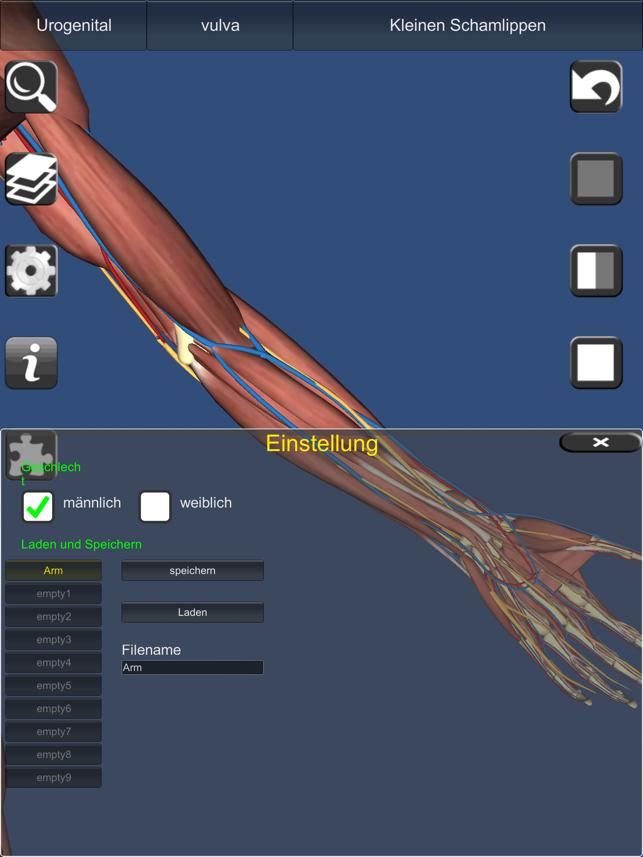 3D Anatomy Screenshot