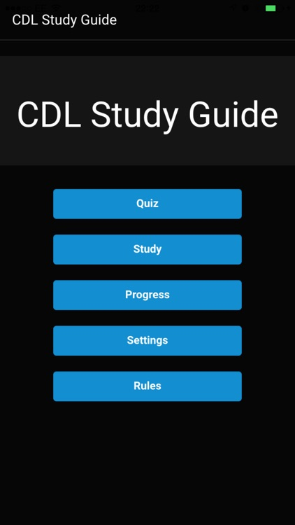 CDL Study Guide
