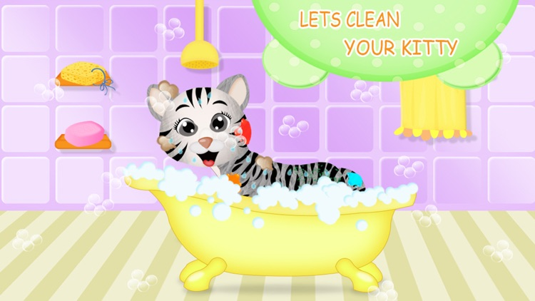 Kitty Cat Love - Pets Care screenshot-4