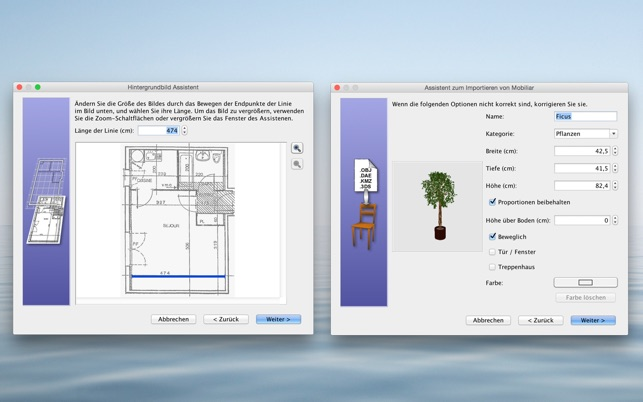 sweet home 3d im mac app store. Black Bedroom Furniture Sets. Home Design Ideas