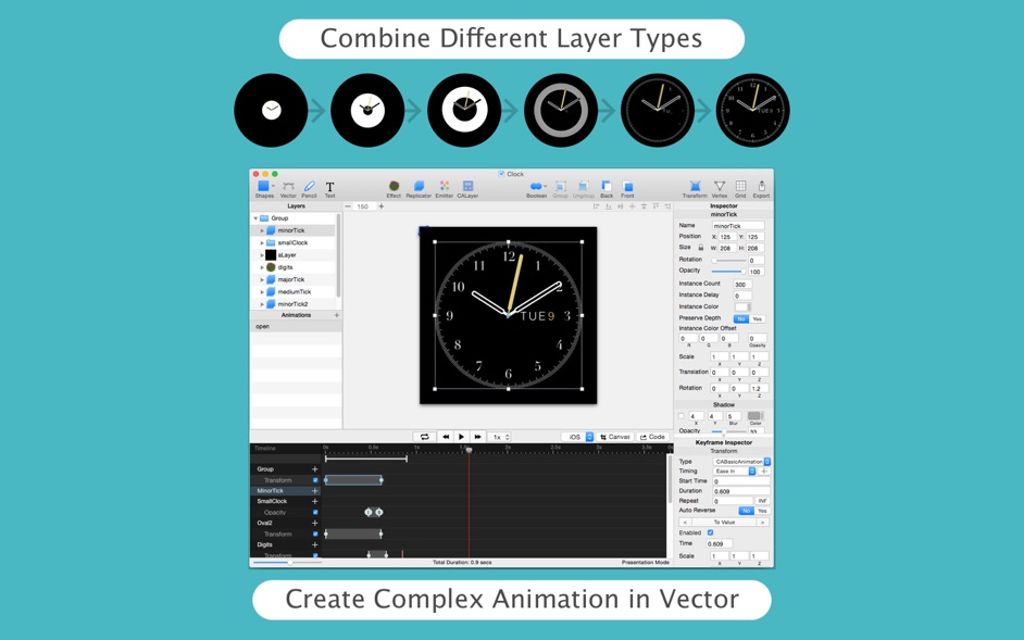 QuartzCode 1 66 4 – Turn vector drawing and animation into