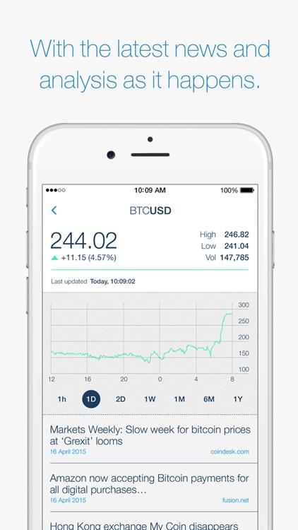 HCL CoinWatch - Bitcoin Crypto Coin Prices at a Glance