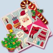 儿童绘本拼图智力游戏大全 - 圣诞老人 - 圣诞树和礼物