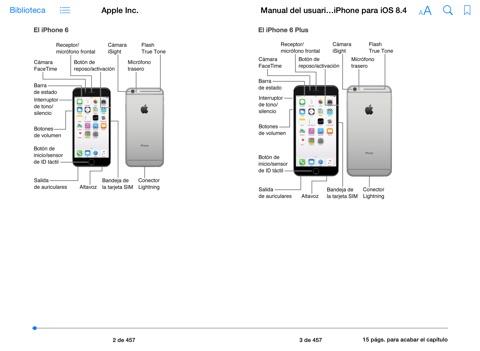 manual del usuario del iphone para ios 8 1 by apple inc on ibooks rh itunes apple com iphone 6 manual del usuario iphone manual de usuario