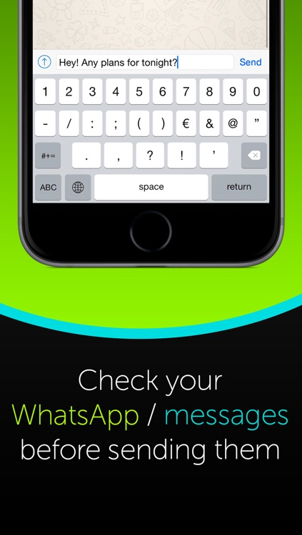 Hands-free Simple Messaging - Voice to Text Messages or WhatsApp screenshot-2