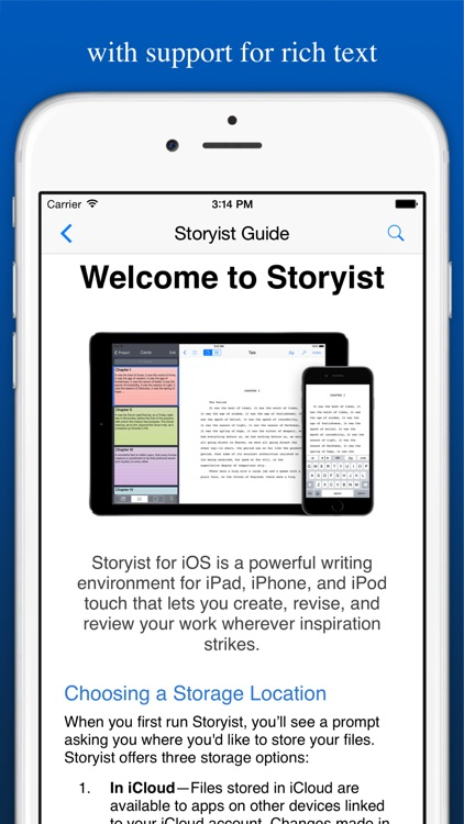 Storyist screenshot-2