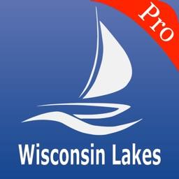 Wisconsin Lakes Nautical charts pro