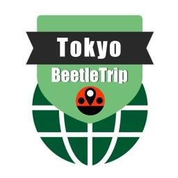 Tokyo travel guide and offline city map, Beetletrip Augmented Reality Japan Tokyo Metro Railways JR Train and Walks