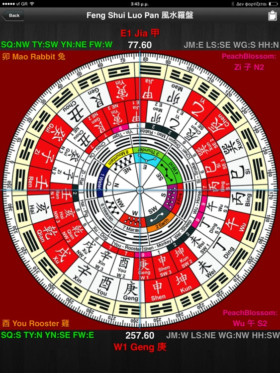Feng Shui Calc Professional HD screenshot-4